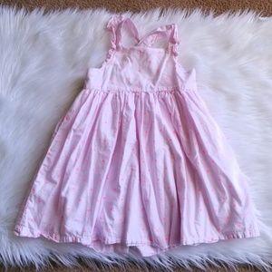 Oshkosh Neon Heart Print Dress Size 5T